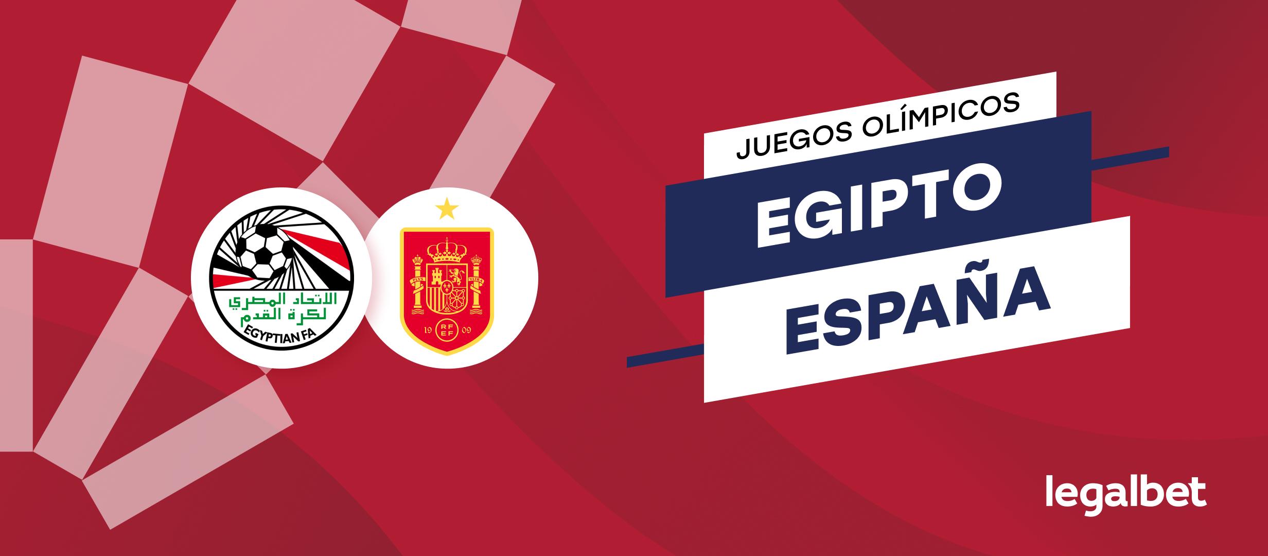 Apuestas y cuotas Egipto - España, Juegos Olímpicos 2021
