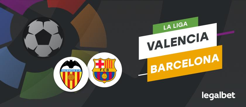 Apuestas Valencia - Barcelona