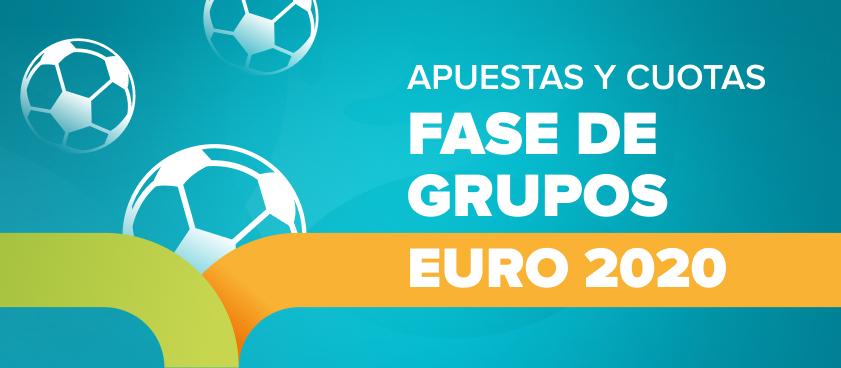 Apuestas y cuotas a la fase de grupos de la Eurocopa 2020