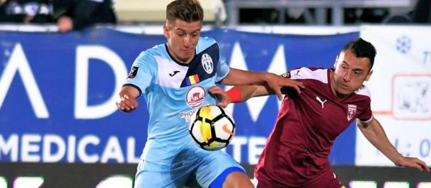Juventus București - FC Voluntari (play-out). Pontul lui Karbacher