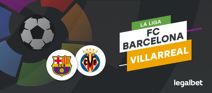 Apuestas y cuotas FC Barcelona - Villarreal, La Liga 2020/21
