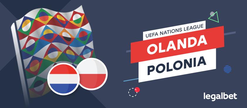 Olanda - Polonia: cote la pariuri şi statistici