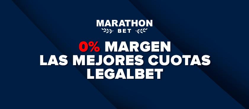 ¡Marathonbet ofrece un 0% de margen en sus cuotas Champions League y Europa League!
