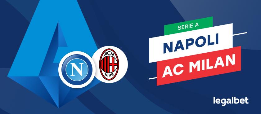 Apuestas y cuotas Napoli - AC Milan, Serie A 2020/21