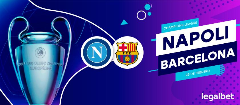 Previa, análisis y apuestas Napoli - FC Barcelona, Champions League 2020