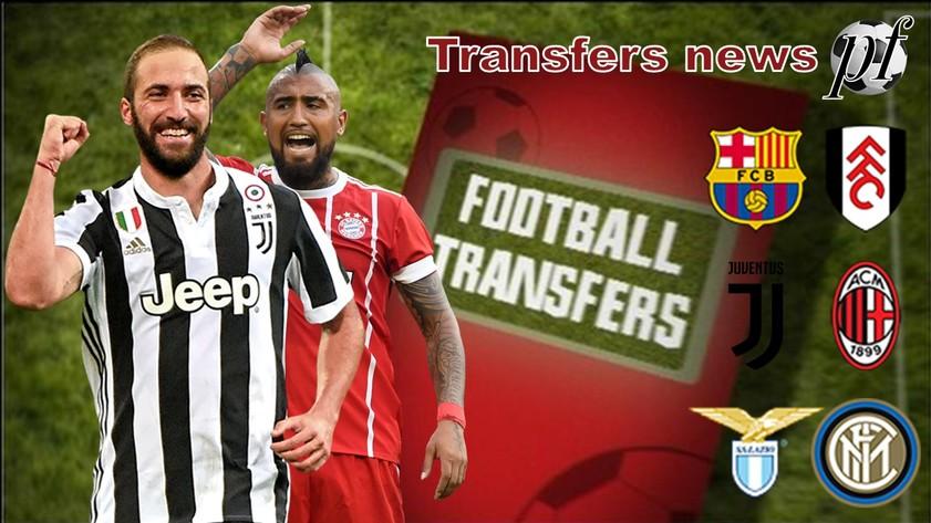 Милан с Ювентусом меняются игроками и др. новости трансферного рынка