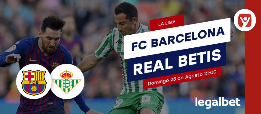 Previa FC Barcelona - Real Betis, La Liga 2019