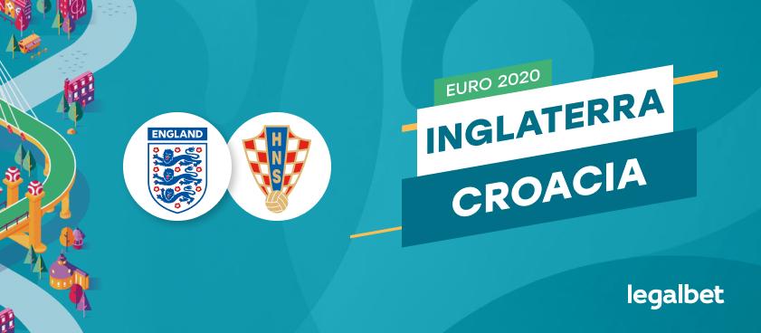 Apuestas y cuotas Inglaterra - Croacia, EURO 2020
