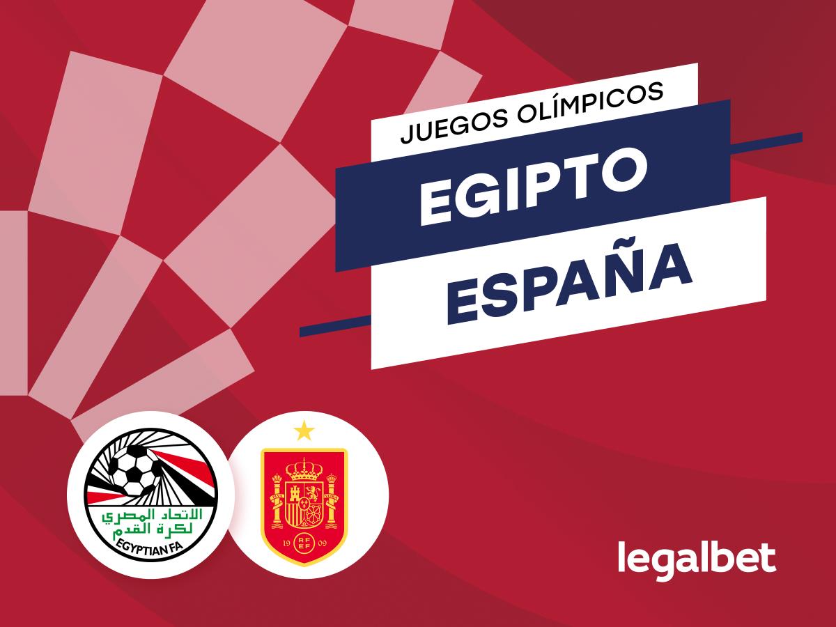 Antxon: Apuestas y cuotas Egipto - España, Juegos Olímpicos 2021.