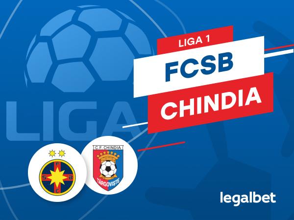 Karbacher: FCSB - Chindia Târgovişte: cote la pariuri şi statistici.