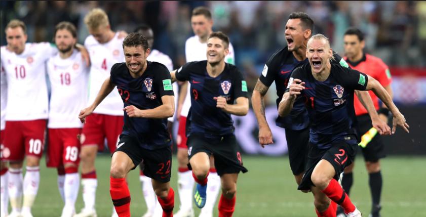 Ставка на матч 1/4 финала Хорватия - Россия