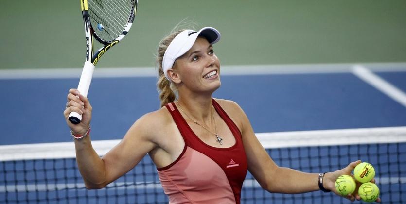 Турнир WTA. Доха. Возняцки - Бертенс