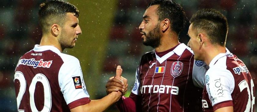 CFR Cluj - Voluntari. Predictii Pariuri Liga 1 Betano