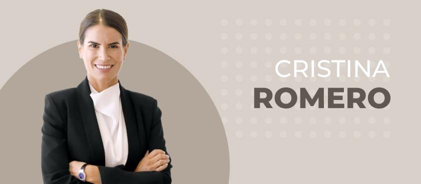 """Cristina Romero: """"Una cosa que siempre recomendamos a nuestros clientes: el 'act global think local' """""""