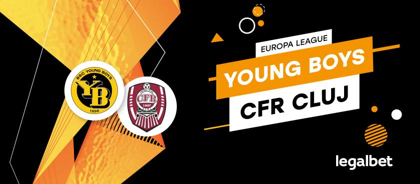 Young Boys Berna - CFR Cluj: cote la pariuri şi statistici