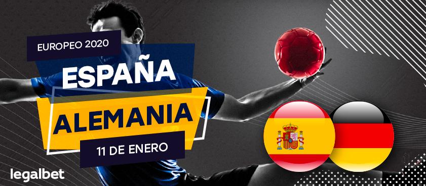 España - Alemania: ¿Que apostar en el partido del Europeo de Balonmano?