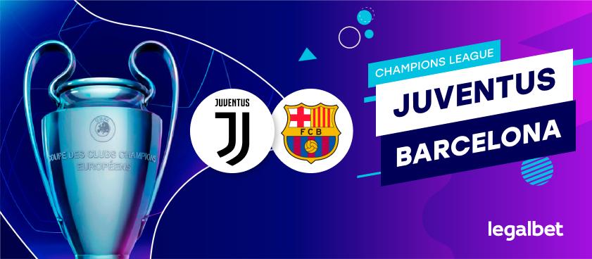 Juventus - Barcelona: ponturi la pariuri pentru marele derby din Champions League