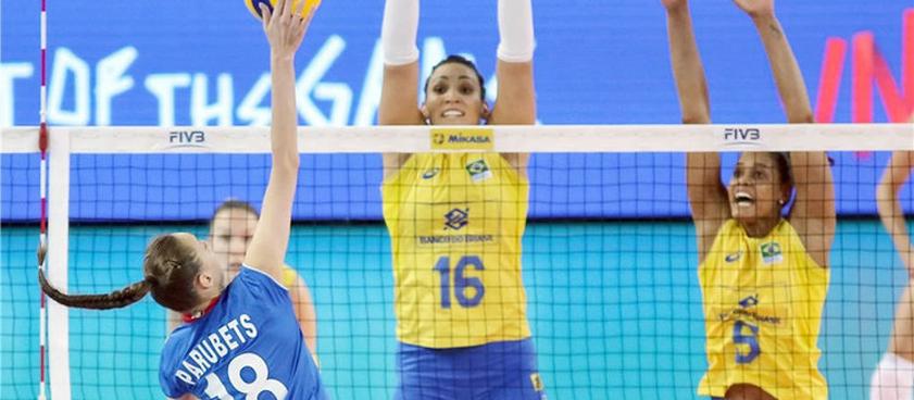 Россия – Бразилия: прогноз на Кубок мира по волейболу среди женщин
