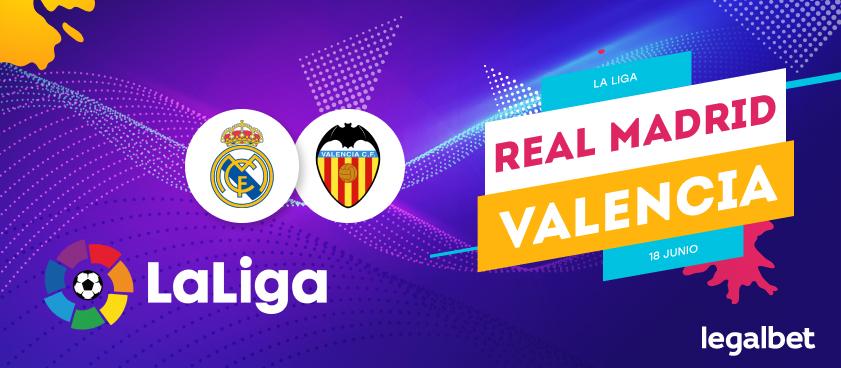 Previa, análisis y apuestas Real Madrid - Valencia, La Liga 2020
