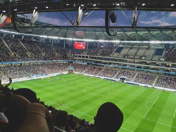 """BK_Olimp: """"Ротор"""" собрал на домашнем матче Олимп-ФНЛ более 33 000 зрителей. Это третий результат в истории лиги."""