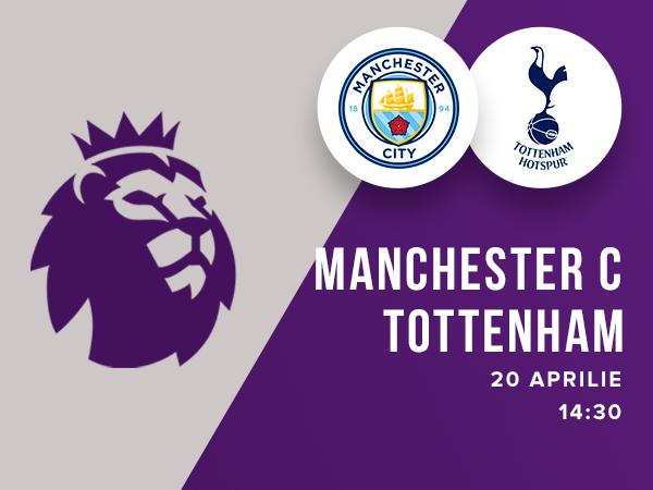 legalbet.ro: Manchester City - Tottenham Hotspur: prezentare cote la pariuri si statistici.
