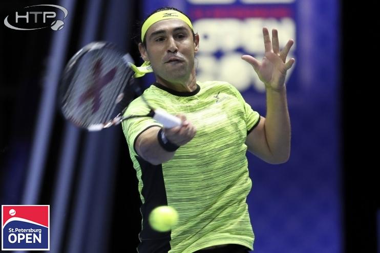 Теннис. St. Petersburg Open 2017. Дамир Джумхур - Маркос Багдатис