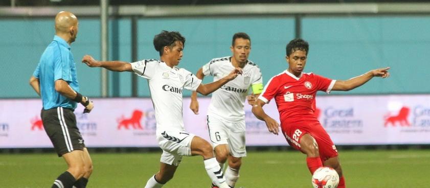 Young Lions - Geylang United. Pontul lui Nica