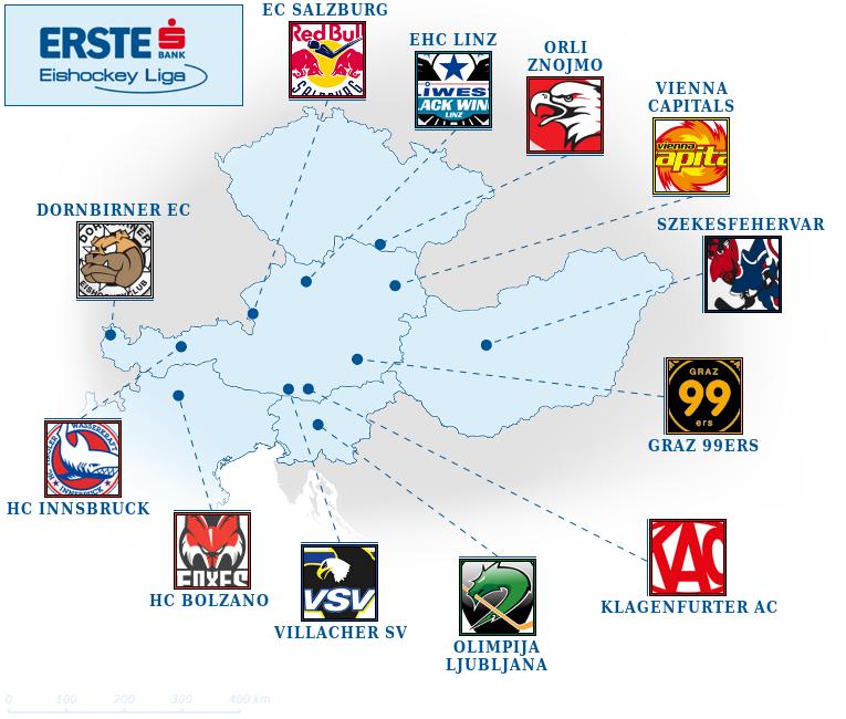 Ставки на хоккей. Прогнозы на чемпионат Австрии, EBEL