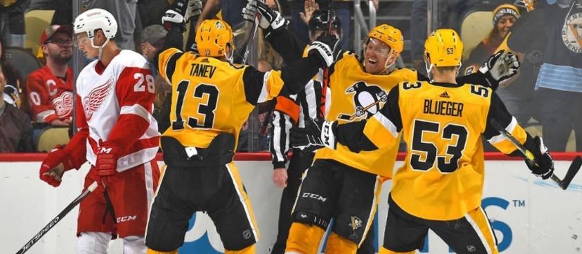 Прогноз на матч НХЛ «Питтсбург» - «Торонто»: пингвины разогнались не на шутку
