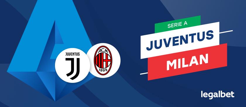 Apuestas y Cuotas Juventus - Milan, Serie A 2020/21