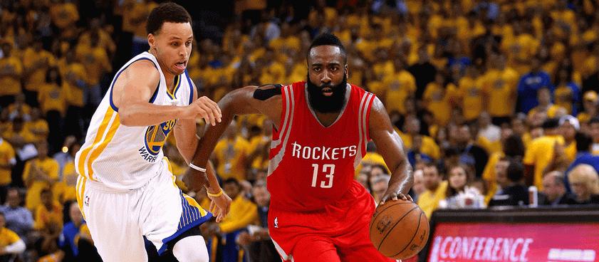 Golden State Warriors - Houston Rockets. Ponturi NBA