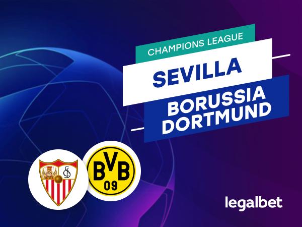 Antxon Pascual: Apuestas y cuotas Sevilla - Borussia Dortmund, Champions League 2020/21.
