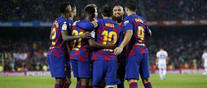 Pariaza pe Leganes vs Barcelona si poti primi cash un pariu fara risc