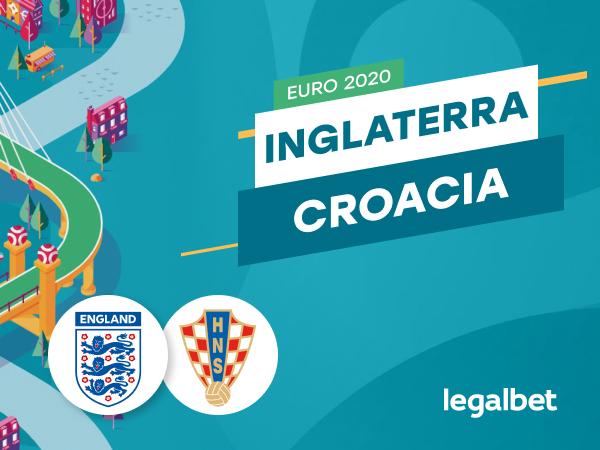 Antxon: Apuestas y cuotas Inglaterra - Croacia, EURO 2020.