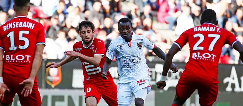 OGC Nice - Angers SCO. Pontul lui Karbacher