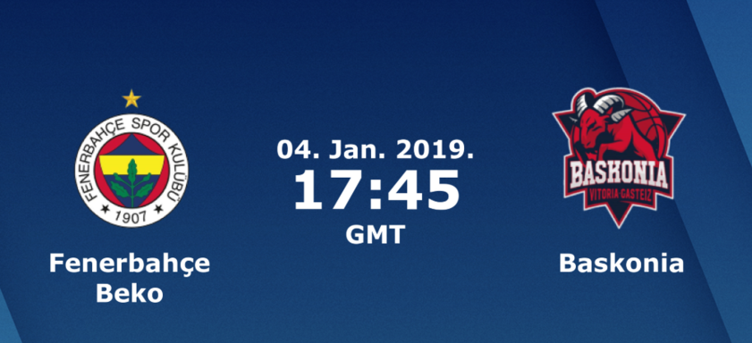 Баскетбол. Евролига. Фенербахче - Баскония (04.01.2019) / Анонс, прогноз