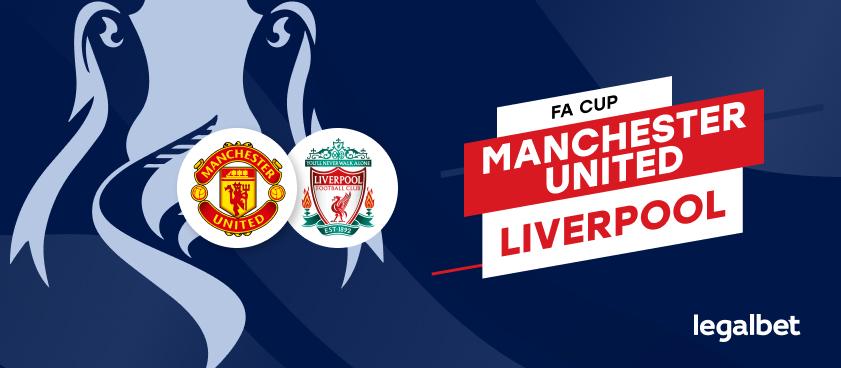 Manchester United vs Liverpool – cote la pariuri, ponturi si informatii