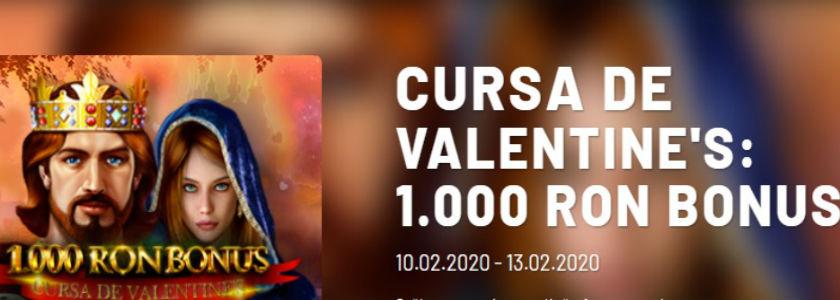 Ruleaza la cazino si castiga zilnic peste 1000 RON bonus