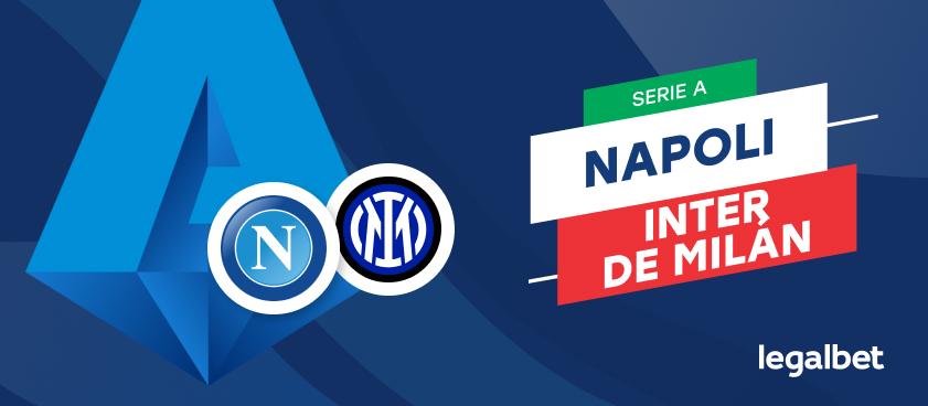 Apuestas y cuotas Napoli - Inter de Milán, Serie A 2020/21