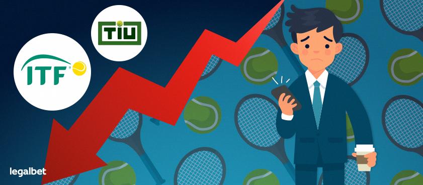 ITF и TIU запретят live-ставки на матчи мелких теннисных турниров