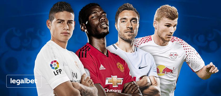Экспресс на футбольные воскресные матчи европейских чемпионатов