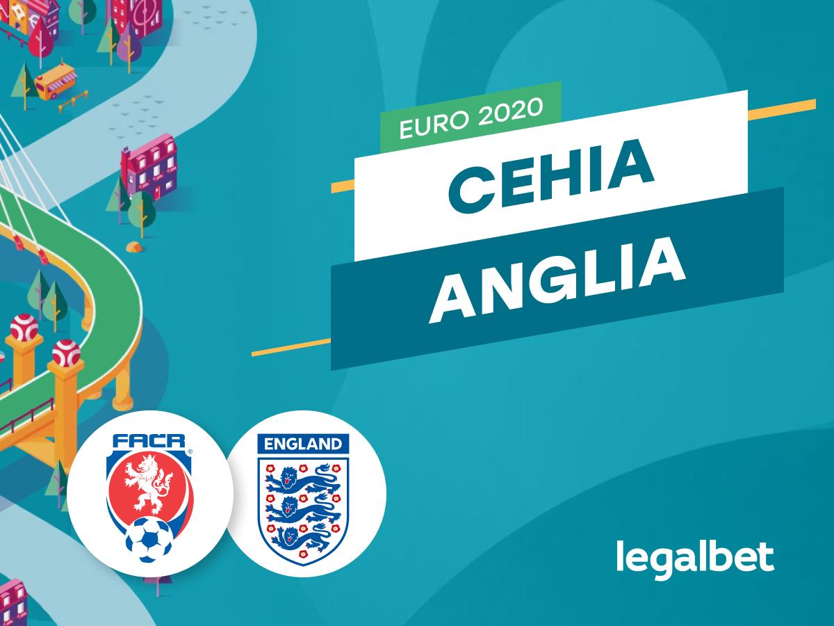 Cristian M: Anglia - Cehia, ponturi pariuri EURO 2020. Vrea Southgate locul 1 în grupă?.