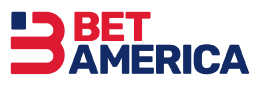 The logo of the sportsbook BetAmerica - legalbet.com