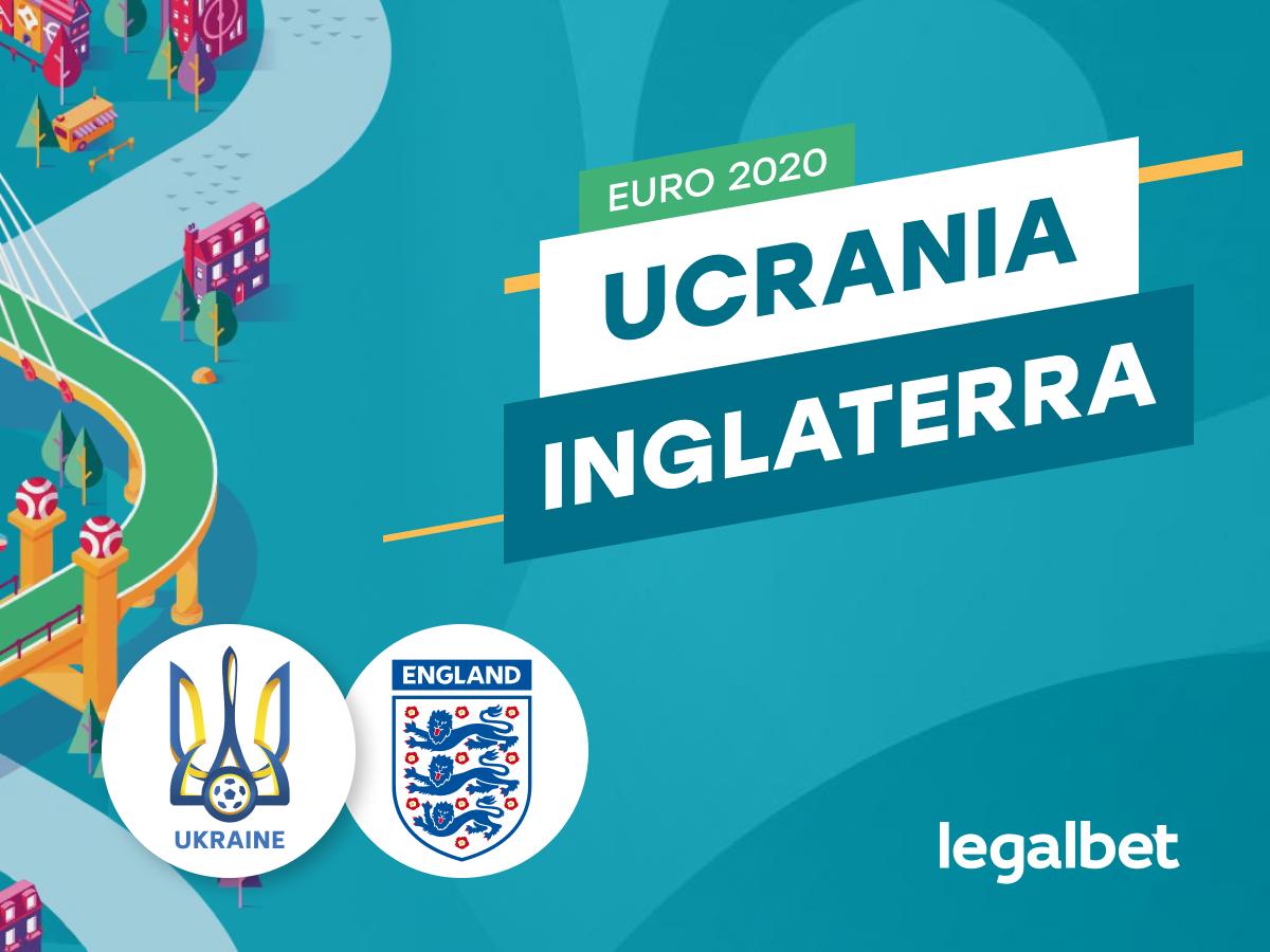Antxon: Apuestas y cuotas Ucrania - Inglaterra, EURO 2020.