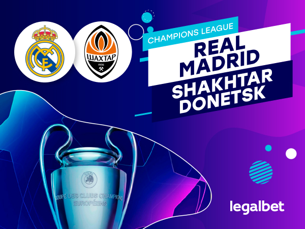 Antxon Pascual: Apuestas y cuotas Real Madrid - Shakhtar Donetsk, Champions League 2020.
