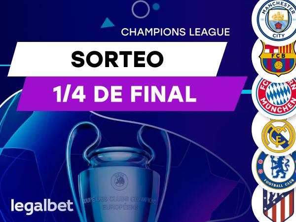 Antxon Pascual: Análisis sorteo cuartos de final Champions League.