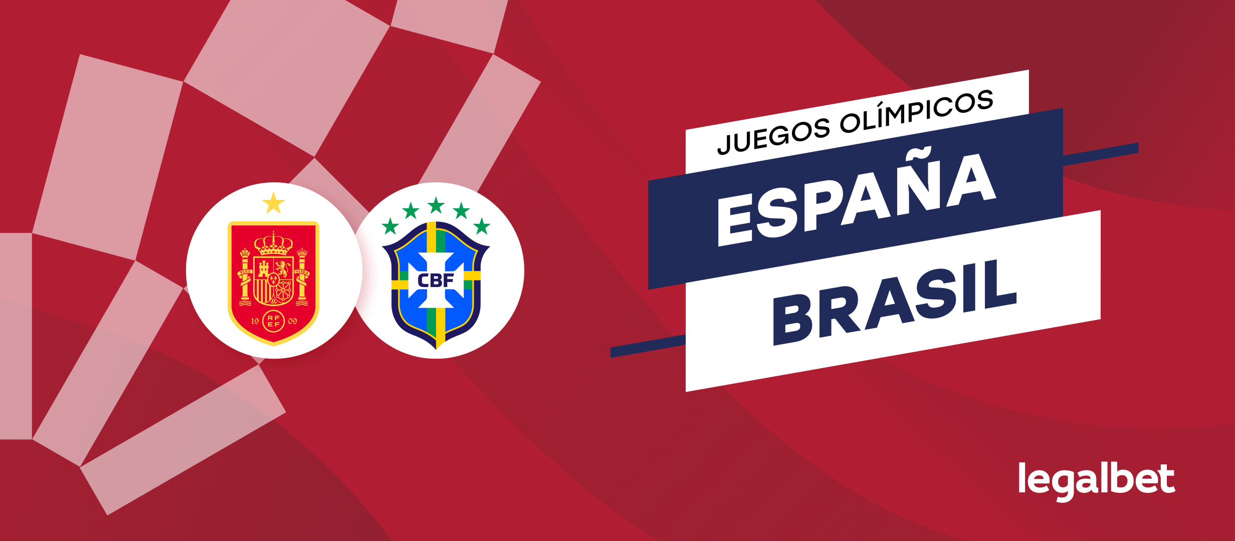 Apuestas y cuotas Brasil - España, Juegos Olímpicos 2020 (2021)