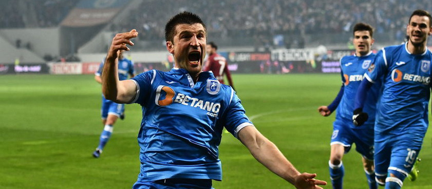 U Craiova - CFR Cluj. Predictii sportive Liga 1 Betano