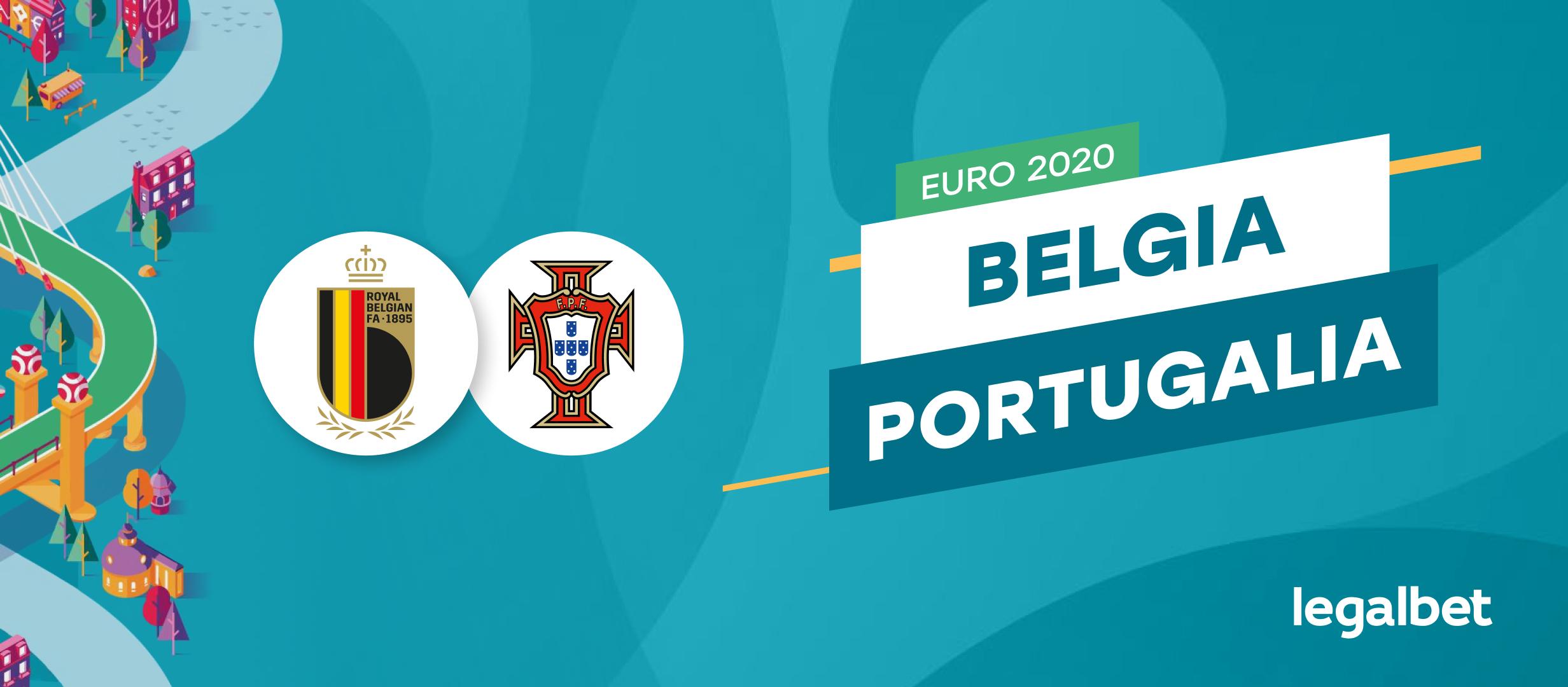 Belgia vs Portugalia – cote la pariuri, ponturi si informatii