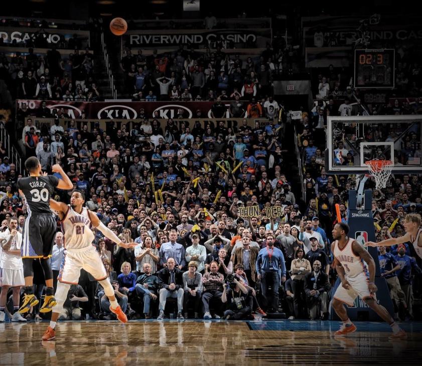 Прогноз на матчи Плей-офф. 1/2 финала NBA. Оклахома - Голден Стэйт